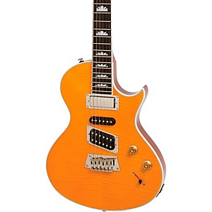 Epiphone-Nighthawk-Electric-Guitar-Trans-Amber