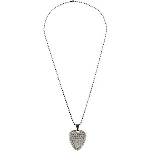 Clayton-Crystal-Guitar-Pick-Necklace-Crystal-Set-22--BALL-CHAIN