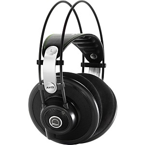 AKG-Quincy-Jones-Signature-Series-Q701-Premium-Class-Reference-Headphones-Black