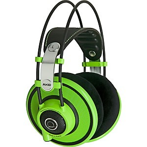 AKG-Quincy-Jones-Signature-Series-Q701-Premium-Class-Reference-Headphones-Green