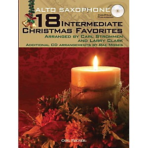 Carl-Fischer-18-Intermediate-Christmas-Favorites---Alto-Saxophone-Book-CD-Standard