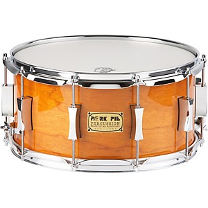 Pork-Pie-Cherry-Pie-Cherry-Bubinga--Snare-Drum-14x7-Candy-Orange