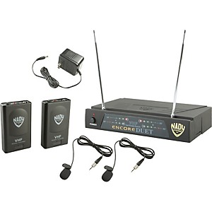 Nady-Encore-DUET-LT-O-Wireless-System-Ch-A-F