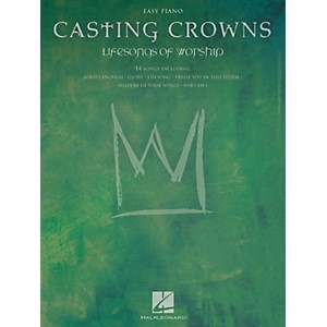 Hal-Leonard-Casting-Crowns---Lifesongs-Of-Worship-For-Easy-Piano-Standard