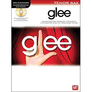 Hal-Leonard-Glee-For-Tenor-Sax---Instrumental-Play-Along--Book-CD--Standard