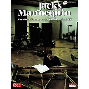 Cherry-Lane-Jack-s-Mannequin---The-Glass-Passenger-And-Dear-Jack-PVG-Songbook-Standard