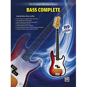 Alfred-Ultimate-Beginner-Series-Bass-Complete-Book---DVD-Standard