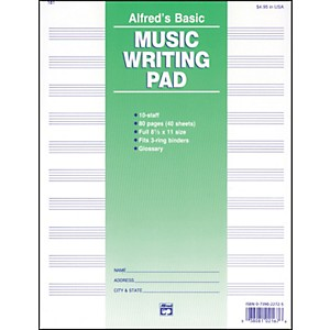 Alfred-10-Stave-Music-Writing-Pad--8-1-2--x-11---Standard
