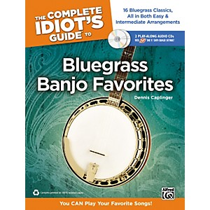 Alfred-The-Complete-Idiot-s-Guide-to-Bluegrass-Banjo-Favorites-Book---2-CDs-Standard