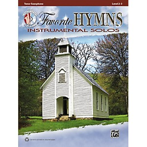 Alfred-Favorite-Hymns-Instrumental-Solos-Tenor-Sax-Book---CD-Standard