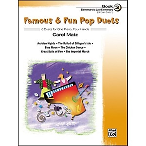 Alfred-Famous---Fun-Pop-Duets-Book-3-Standard