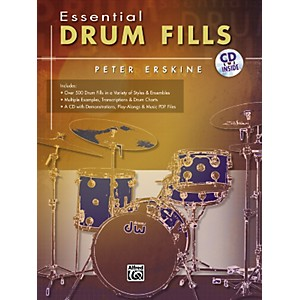 Alfred-Essential-Drum-Fills-Standard
