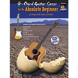 Alfred-4-Chord-Guitar-Songs-for-the-Absolute-Beginner-Book---CD-Standard