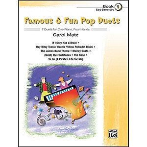 Alfred-Famous---Fun-Pop-Duets-Book-1-Standard