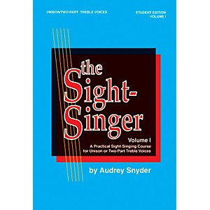 Alfred-The-Sight-Singer-Volume-I-for-Unison-Two-Part-Treble-Voices-Standard