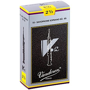 Vandoren-V12-Series-Soprano-Saxophone-Reeds-Strength-2-5-Box-of-10