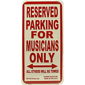 AIM-Musicians-Only-Metal-Sign-Standard