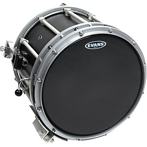 Evans-Hybrid-Soft-Marching-Snare-Drum-Batter-Head-Black-13-inch