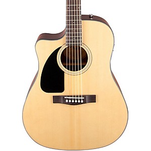 Fender-CD100-CE-Left-Handed-Cutaway-Acoustic-Electric-Guitar-Natural