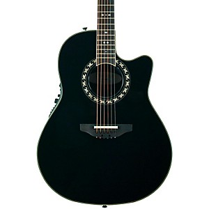 Ovation-Legend-2077-AX-Deep-Contour-Acoustic-Electric-Guitar-Black