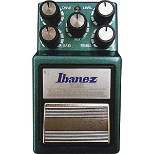 Ibanez-9-Series-TS9B-Bass-Tube-Screamer-Overdrive-Bass-Effects-Pedal-Green