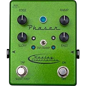 Keeley-Phaser-Guitar-Effects-Pedal-Sparkle-Green