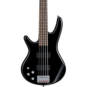 Ibanez-GSR205L-Left-Handed-5-String-Electric-Bass-Guitar-Black