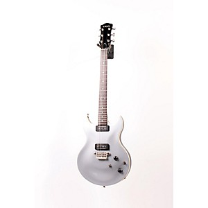 Vox-SDC-33-Double-Cutaway-Solidbody-Electric-Guitar-Silver-886830895869