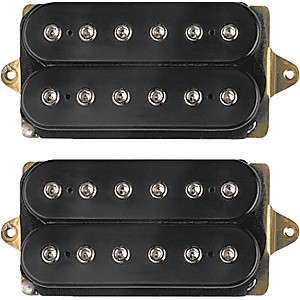 DiMarzio-D-Activator-Humbucker-Set-STD-NK-F-SP-BRDG-Black-For-42mm-Nut--1-5-8-