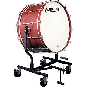 Ludwig-Concert-Bass-Drum-w--LE787-Stand-Black-Cortex-16x32
