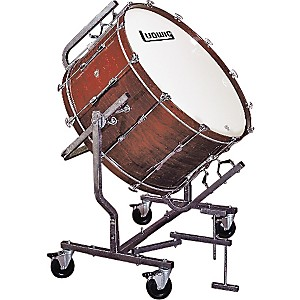 Ludwig-Concert-Bass-Drum-w--LE788-Stand-Black-Cortex-16x32