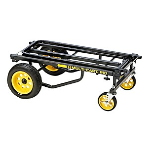 Rock-N-Roller-Multi-Cart-8-in-1-Equipment-Transporter-Cart-Black-Frame-Yellow-Wheels-Max