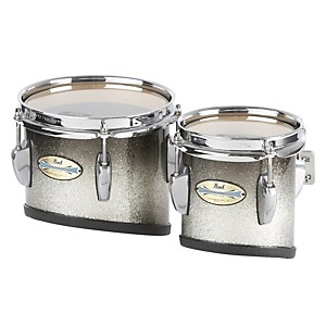 Pearl-CarbonPly-Mahogany-Marching-Tom-with-Attachment-Bars--301--Carbon-Fiber-Matte-6x6---8x8-set