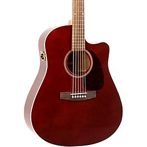 Seagull-Entourage-CW-GT-QI-Acoustic-Electric-Guitar-Burgundy