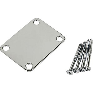 ProLine-4-Screw-Neck-Plate-Chrome