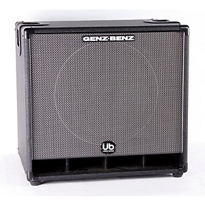 Genz-Benz-Uber-Bass-GB115T-UB-1x15-Bass-Speaker-Cabinet-Black-888365051888