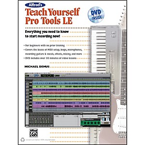 Alfred-Alfred-s-Teach-Yourself-Pro-Tools-LE-Book---DVD-Standard