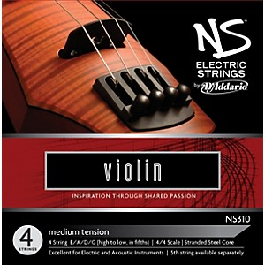 D-Addario-NS310-NS-Electric-Violin-Strings-Standard