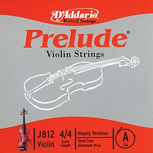 D-Addario-J812-Prelude-4-4-Violin-Single-A-String-Aluminum-Wound-Heavy