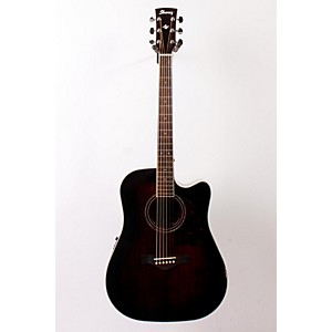 Ibanez-AW300ECE-Artwood-Solid-Top-Dreadnought-Cutaway-Acoustic-Electric-Guitar-DARK-VIOLIN-SUNBURST-888365115276