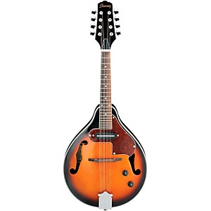 Ibanez-M510E-A-STYLE-Acoustic-Electric-Mandolin-BROWN-SUNBURST