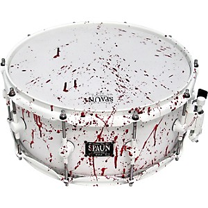 Spaun-Blood-Spatter-Maple-Snare-Drum-6x14