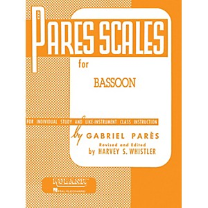 Hal-Leonard-Parès-Scales-For-Bassoon-Standard