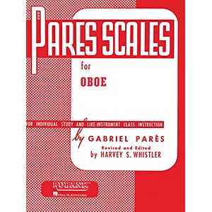 Hal-Leonard-Pares-Scales-For-Oboe-Standard