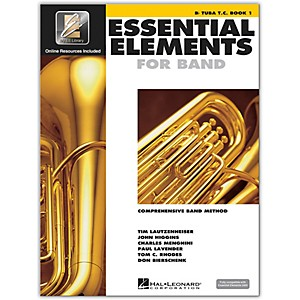 Hal-Leonard-Essential-Elements-B-Flat-Tuba-TC-Book-1-Book-CD-Standard