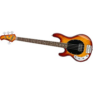 Sterling-by-Music-Man-Ray34-Left-Handed-Electric-Bass-Guitar-Honeyburst