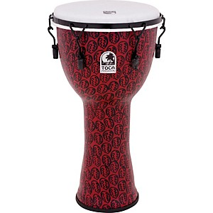 Toca-Freestyle-II-Mechanically-Tuned-Djembe-10-inch-Red-Mask