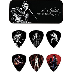 Dunlop-Elvis-Presley--68-Special-Pick-Tin-with-6-Medium-Picks-Standard