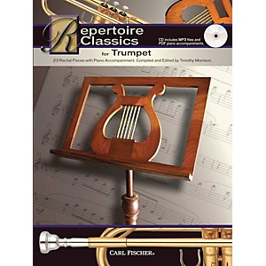 Carl-Fischer-Repertoire-Classics-for-Trumpet--Book--Data-MP3-CD--Standard