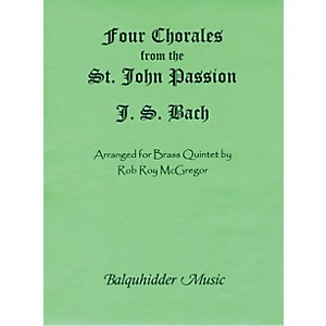 Carl-Fischer-Four-Chorales-from-St--Johns-Passion-Book-Standard